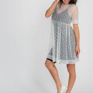 Agnes & Dora Mesh Easy Dress XXL